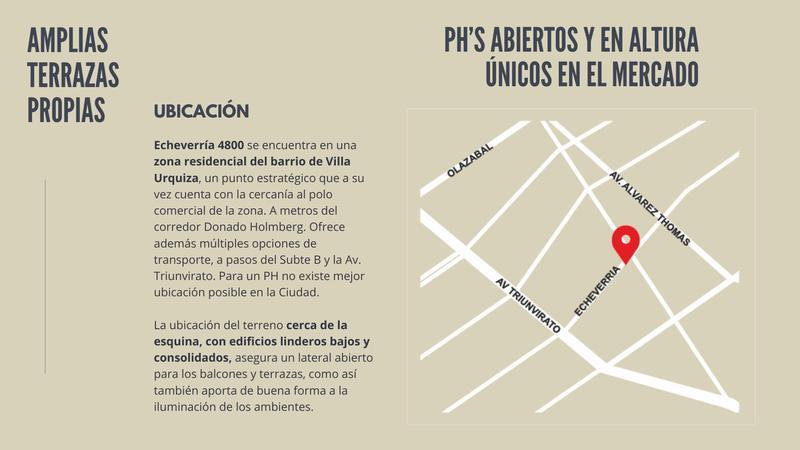 Foto Departamento en Venta en  Urquiza R,  V.Urquiza  Echeverría 4800, Villa Urquiza UF 3 DISPONIBLE