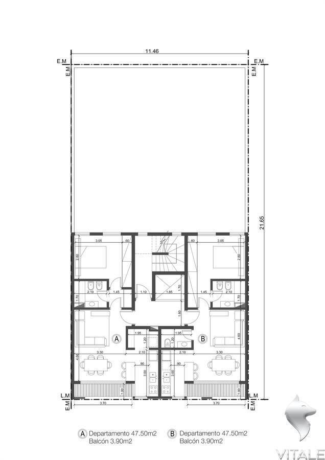 Foto Edificio en Guemes  Rawson 1700 número 18