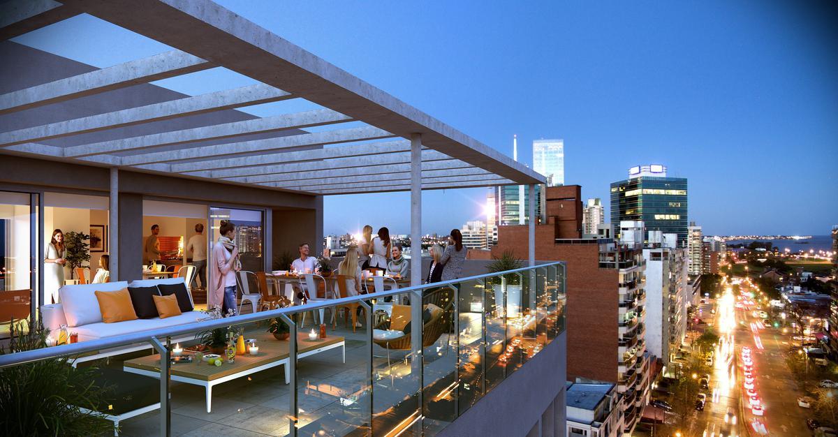 Foto Edificio en Pocitos Nuevo EDIFICIO  AIR TOWER  26 DE MARZO Y LUIS ALBERTO DE HERRERA número 1