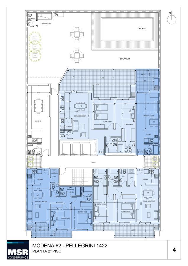 Foto Edificio en Centro AVENIDA PELLEGRINI 1422 número 7