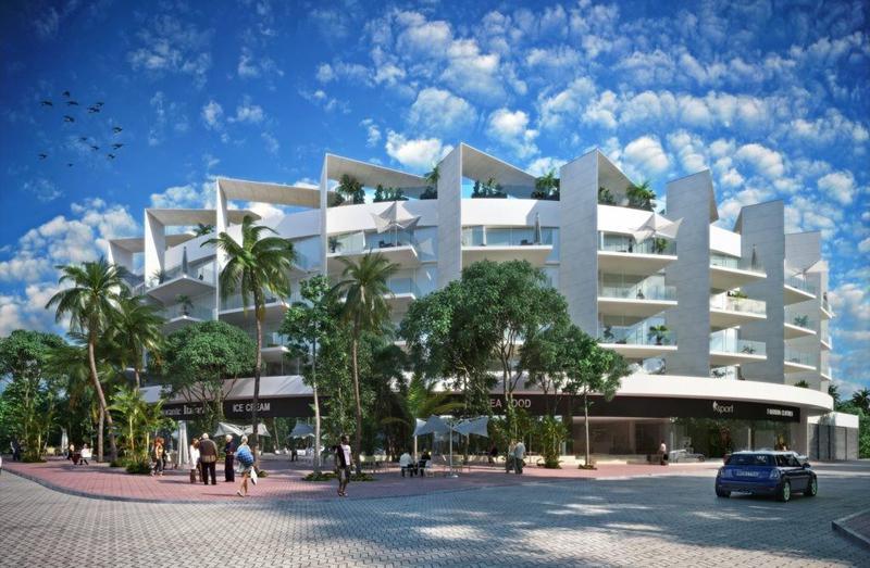 Foto Edificio en Playa del Carmen Centro AV. 38, esquina Calle Flamingo.  número 8