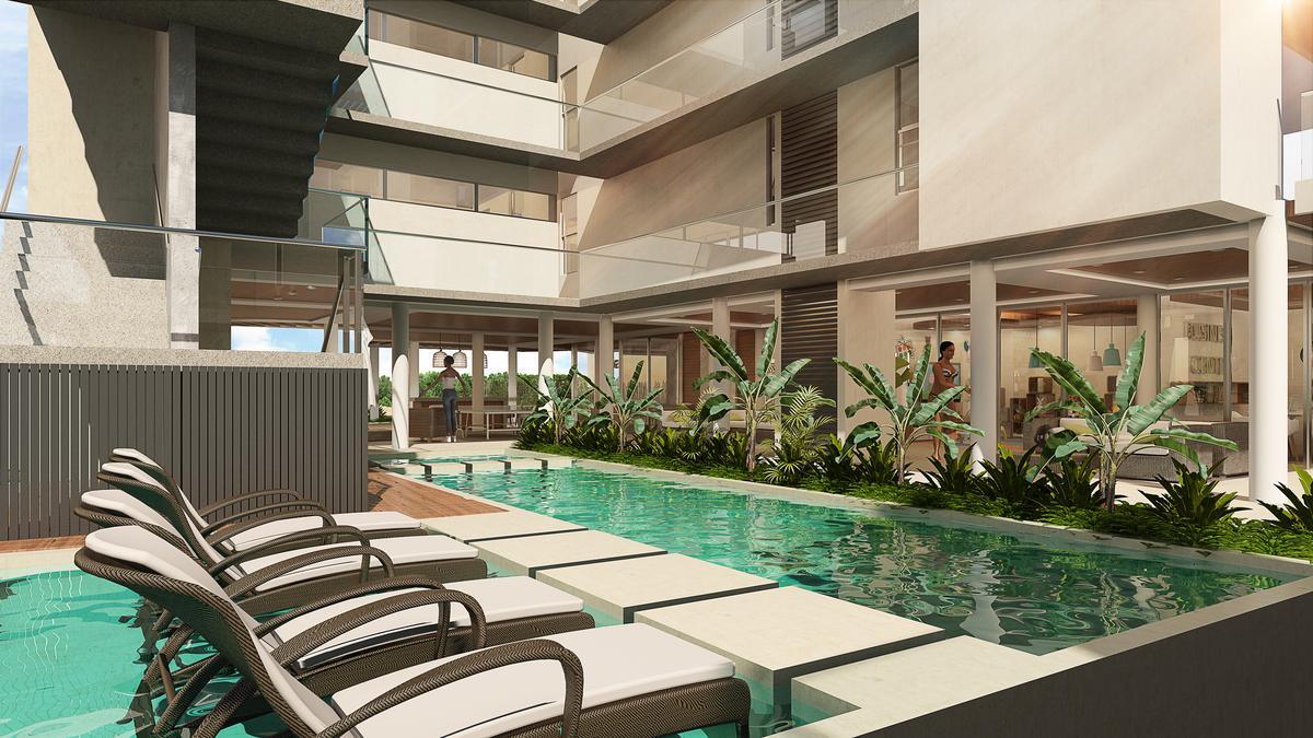 Foto Edificio en Telchac Puerto Brown Luxury Beach Condos número 4