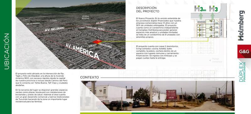 Foto Condominio en America Dúplex Financiados Sin licitación número 2