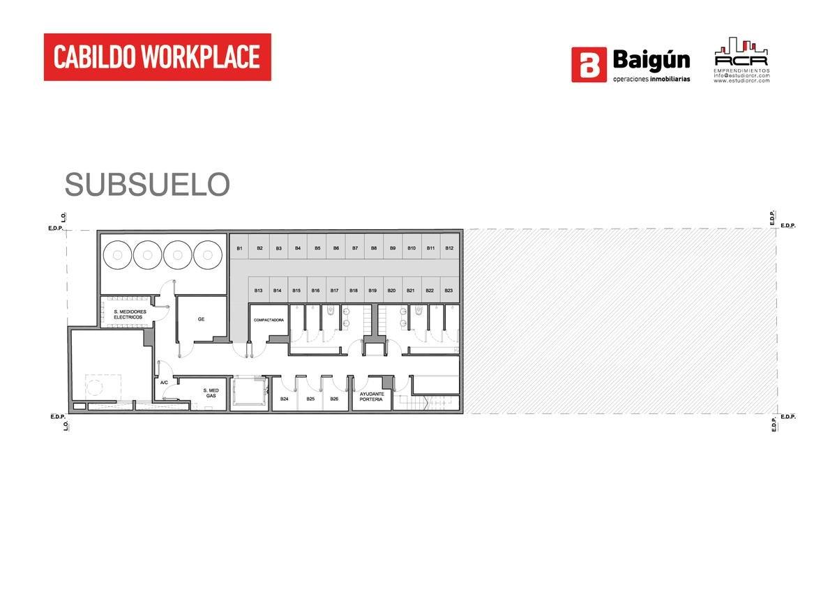 Foto Oficina en Venta en  Belgrano C,  Belgrano  Cabildo al 1300 - 203