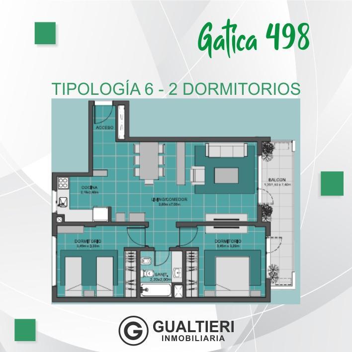 Foto Edificio en Cumelén                          Gatica 498          - CONDICIONES UNICAS número 13