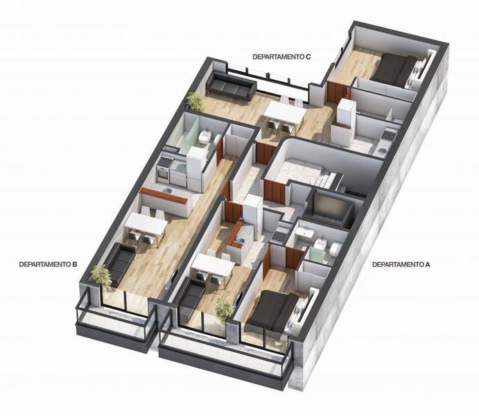Foto Edificio en Rosario Urquiza 3685 número 4