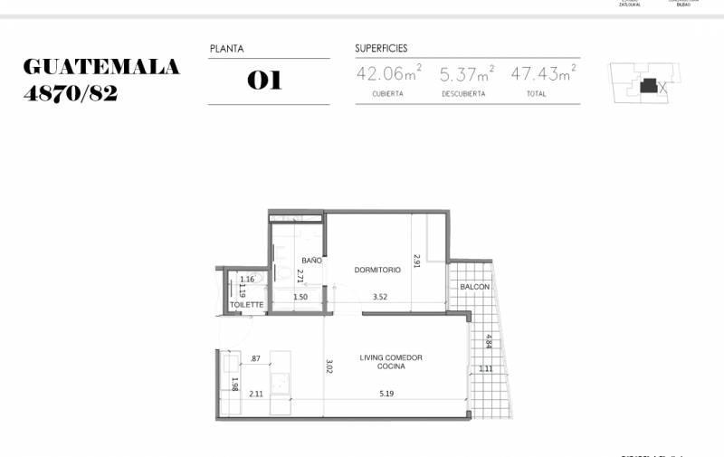 Foto Edificio en Palermo Soho GUATEMALA  4780 número 11