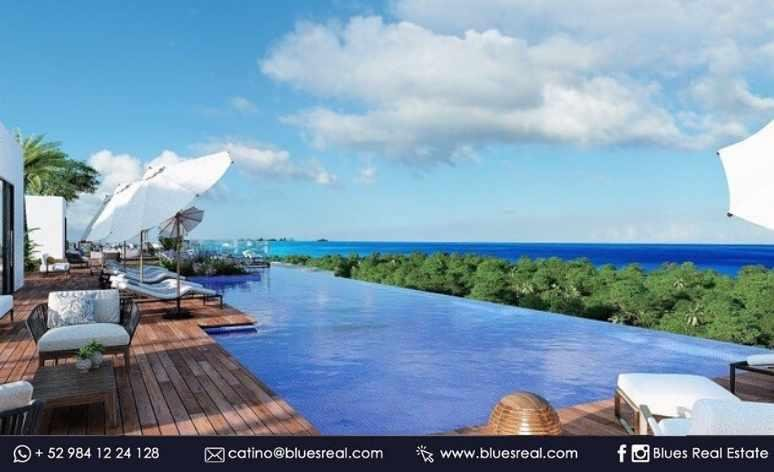 Unit picture Apartment in Sale in  Solidaridad ,  Quintana Roo  For sale NEW residences in Mara Residences in Playa del Carmen | Blues Real | Code 901