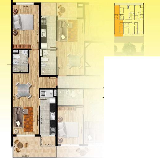 Foto Edificio en Pocitos Nuevo Próximo a WTC y a la Rambla de Pocitos número 9