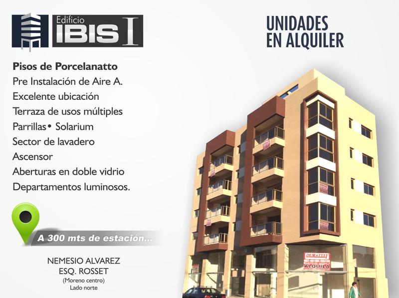 Foto Edificio en Centro (Moreno) IBIS 1 - IBIS I - Nemesio Alvarez y Rosset - Edificio - Lado Norte - Unidades en venta y alquiler número 2
