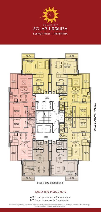 Foto Edificio en Villa Urquiza BLANCO ENCALADA ESQ. DIAZ COLODRERO numero 34
