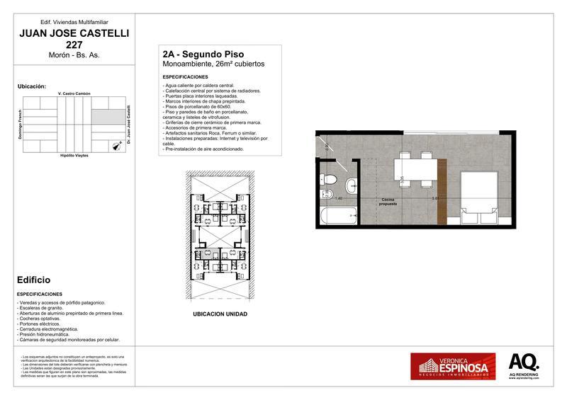 Foto Edificio en Moron Sur Castelli 200 número 13