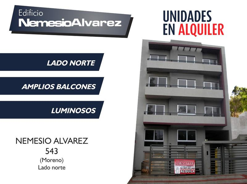 Foto  en Centro (Moreno) Dptos. en Alquiler - Edificio Nemesio Alvarez - Lado norte