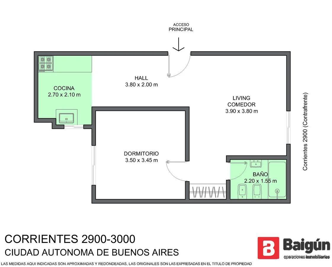 Foto Edificio en Once CORRIENTES Y ECUADOR  número 3
