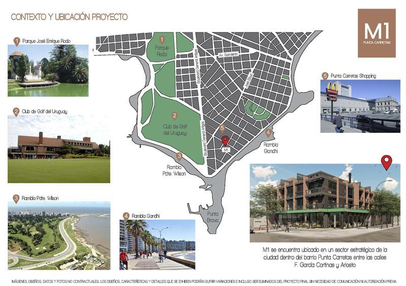 Foto Edificio en Punta Carretas MONTEVIDEO UNO | Ariosto & F. García Cortinas   número 6
