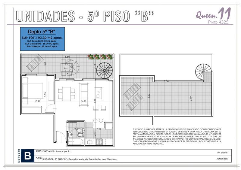 Foto Edificio en Saavedra Pinto 4300 número 17