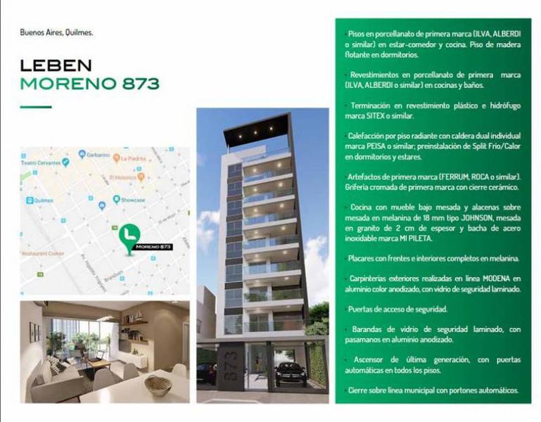 Foto Edificio en Quilmes Moreno 873 número 5