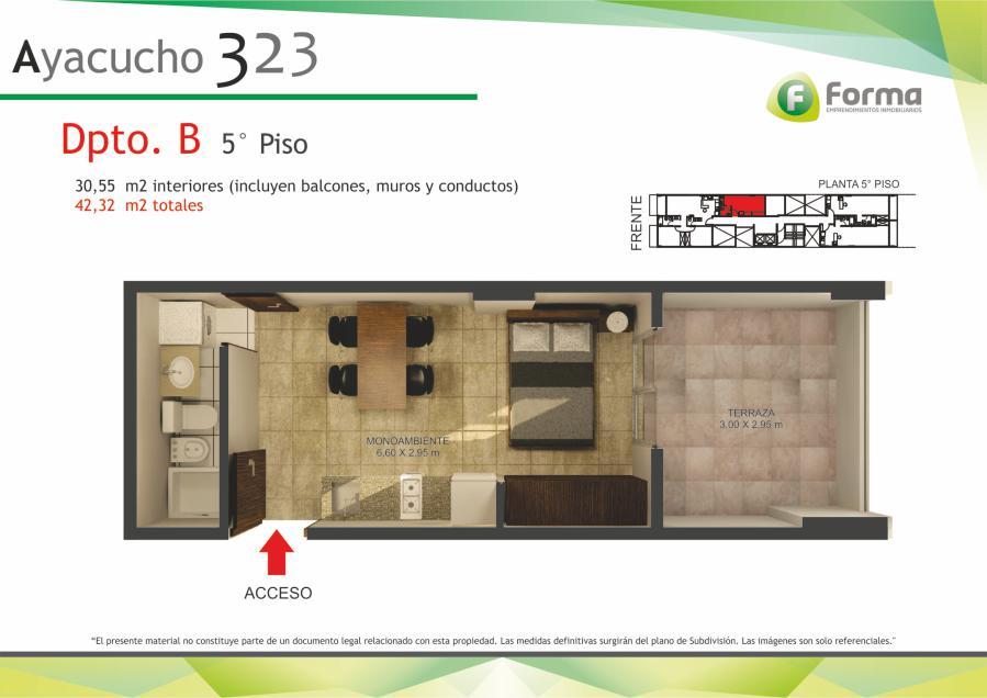 Foto Edificio en Barrio Sur AYACUCHO 232 número 4