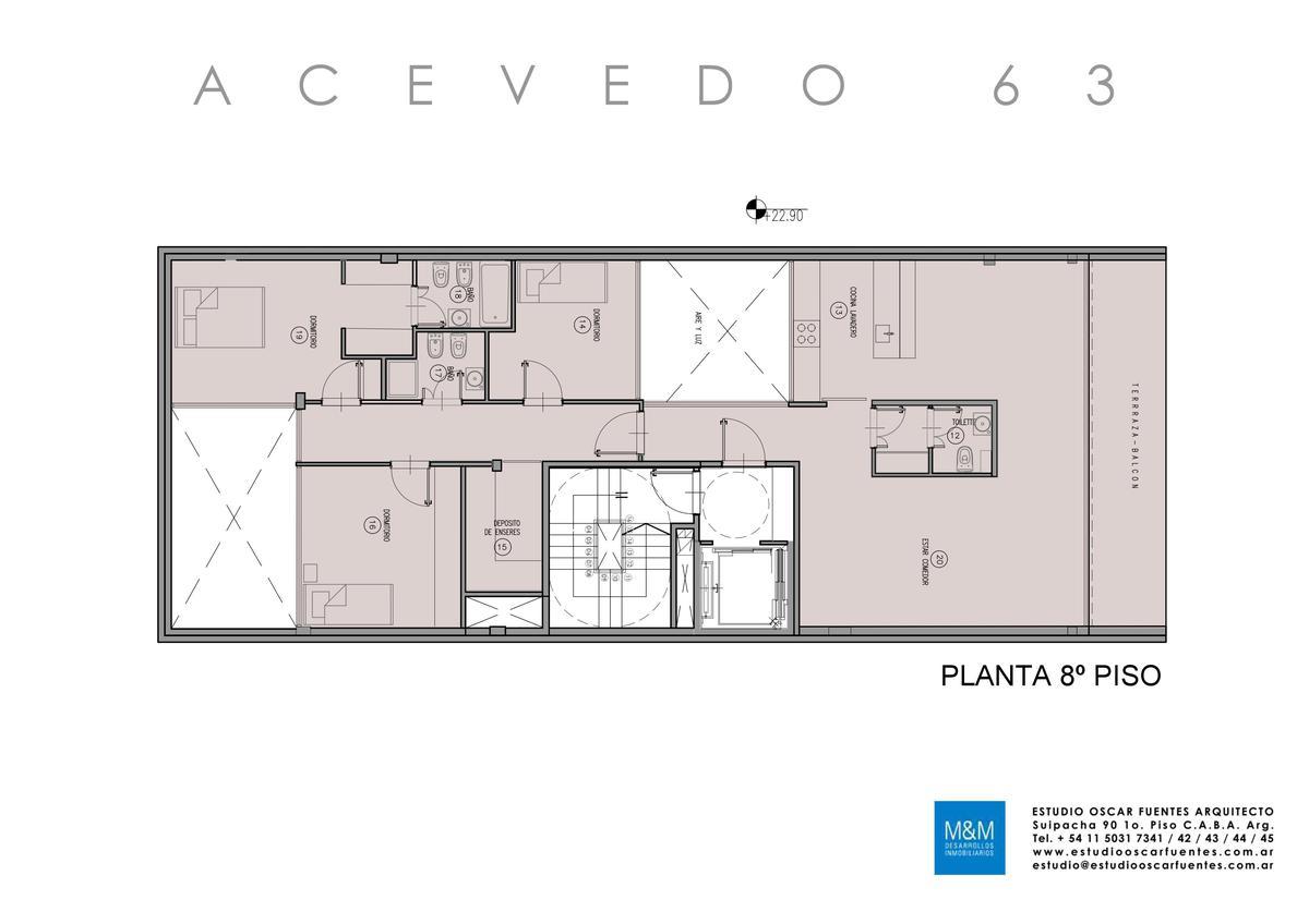 Foto Edificio en Caballito Eduardo Acevedo 63 número 7