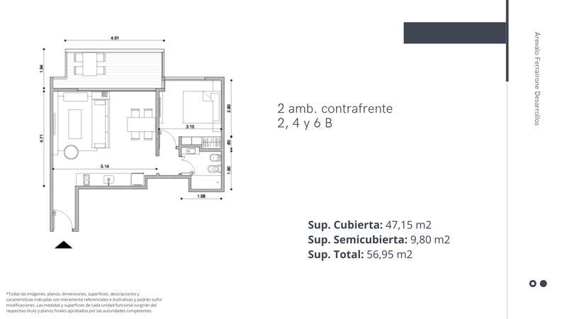 Foto Edificio en Palermo Chico Lafinur 3200 número 10