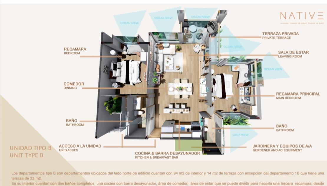 Foto Condominio en Zona Hotelera Norte  Zona Holtera Norte número 9