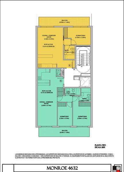 Foto Edificio en Villa Urquiza Monroe 4632 numero 2