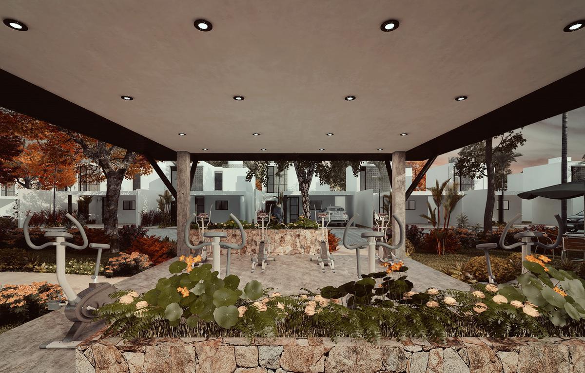 Foto Casa en Venta en  Pueblo Conkal,  Conkal  BOTANICO CONKAL- CASAS EN VENTA- MODELO 143