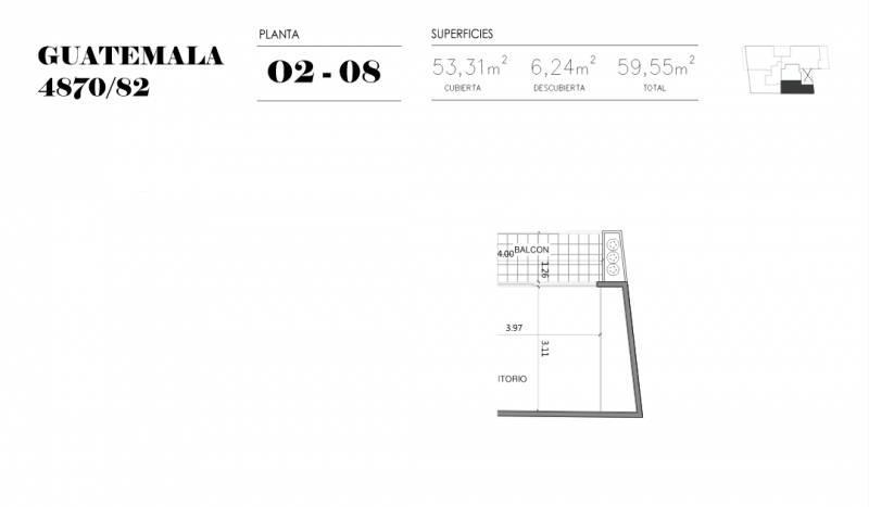 Foto Edificio en Palermo Soho GUATEMALA  4780 número 16