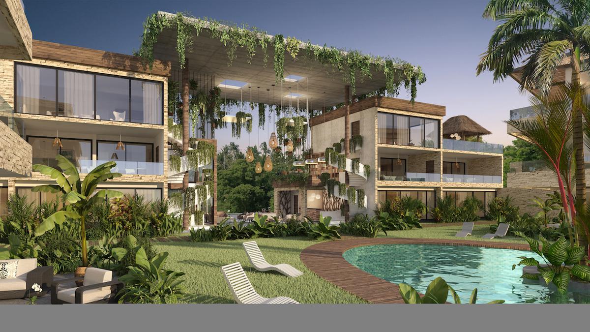Foto Condominio en Ejido Tulum nuevo condominio de lujo con entrega inmediata número 9