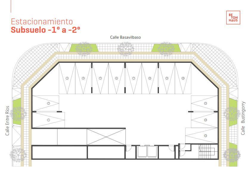 Foto Edificio en Santa Genoveva  Entre Rios 899 número 12