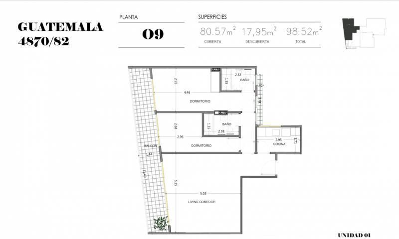 Foto Edificio en Palermo Soho GUATEMALA  4780 número 23