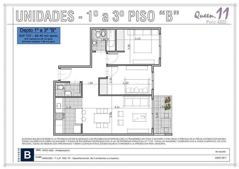 Foto Edificio en Saavedra Pinto 4300 número 13