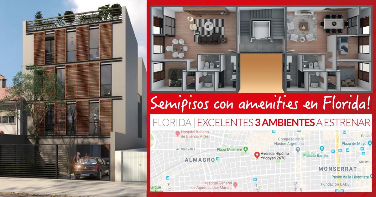 Foto Edificio en Florida Mitre/Este Hipolito Yrigoyen 2670 número 13