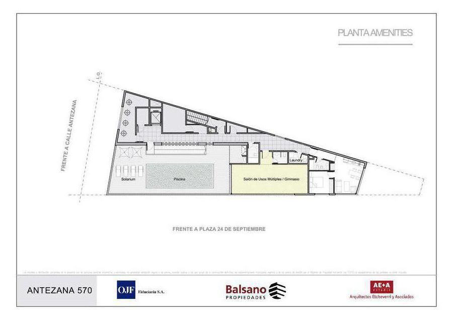 Foto Edificio en Caballito Norte ANTEZANA  570 número 5