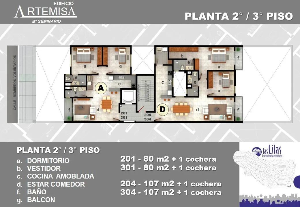Foto Edificio en Mburicaó Vendo Departamentos de 1 y 2 dormitorios a estrenar, Bo. Mburicao. número 12