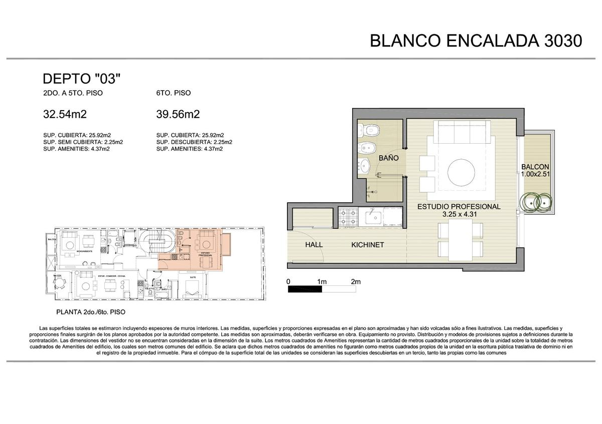 Foto Edificio en Belgrano BLANCO ENCALADA 3030 número 10