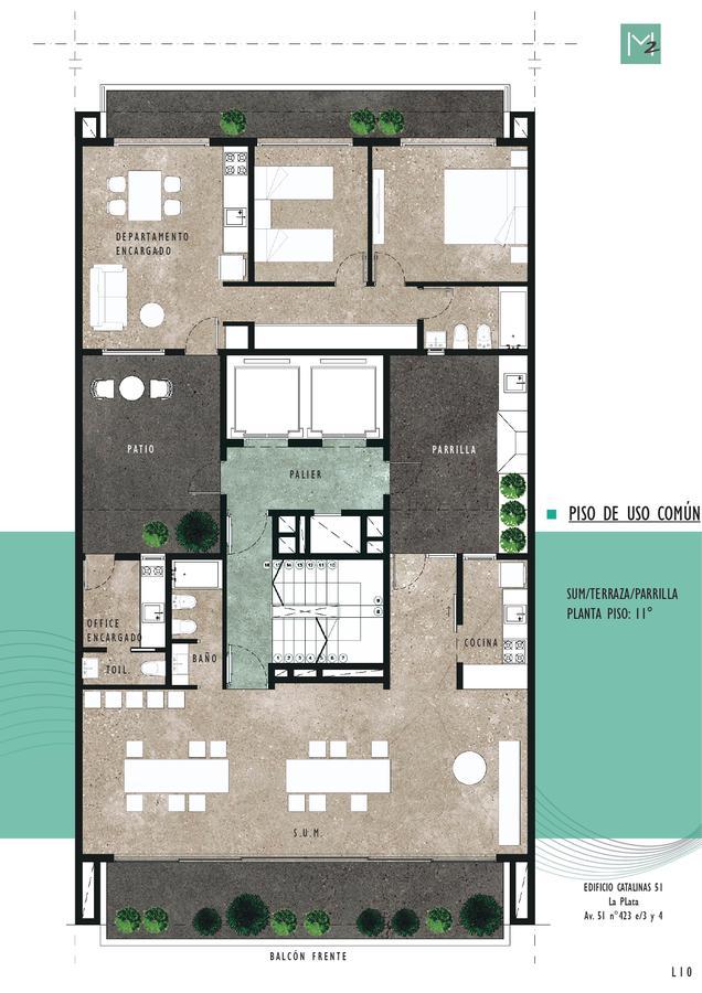 Foto Edificio en La Plata 51 e 3 y 4 número 11