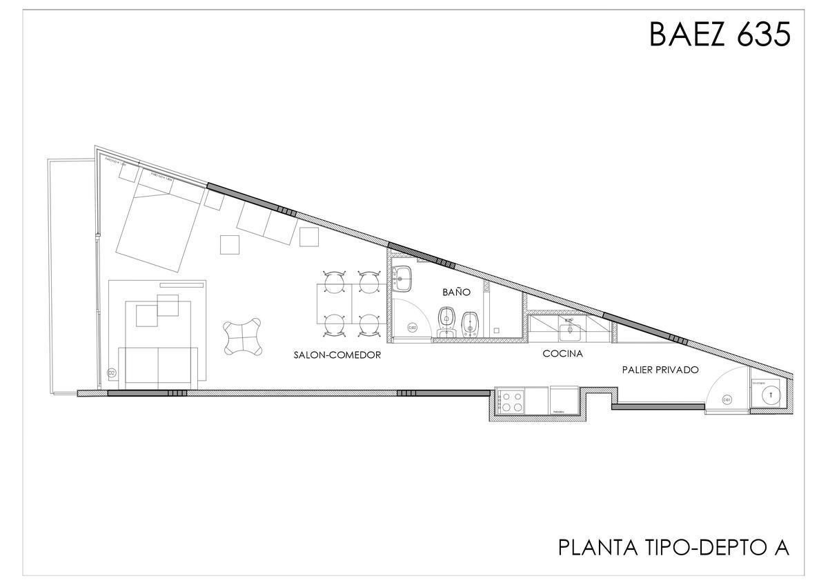 Emprendimiento Baez 635 - BAH Cañitas en Las Cañitas