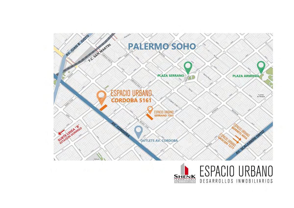 Foto Edificio en Palermo CORDOBA 5100 número 2