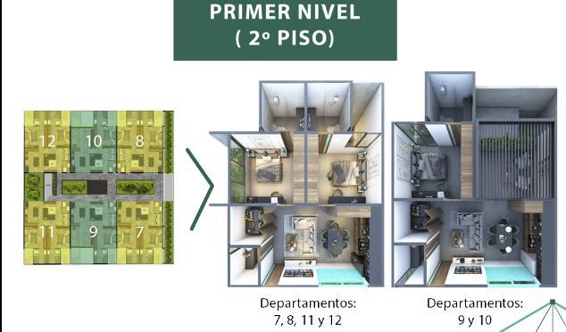 Foto Condominio en Mérida Taliva departamentos número 7