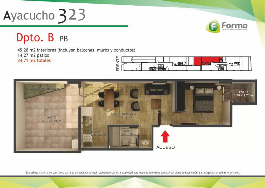 Foto Edificio en Barrio Sur AYACUCHO 232 número 16