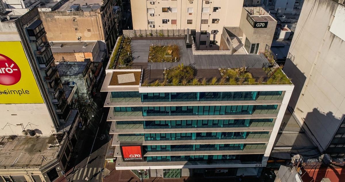 Foto Edificio de oficinas en Microcentro             Corrientes  y San Lorenzo            número 2