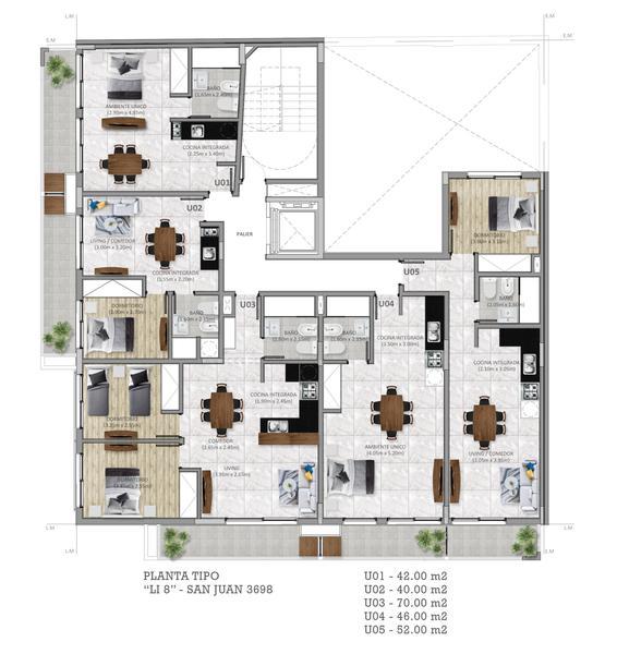 Foto Edificio en Remedios de Escalada de San Martin San juan 3698 número 7