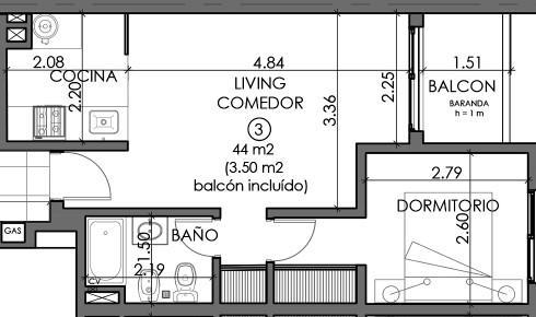 Foto Departamento en Venta en  Centro,  Rosario  PELLEGRINI 1267