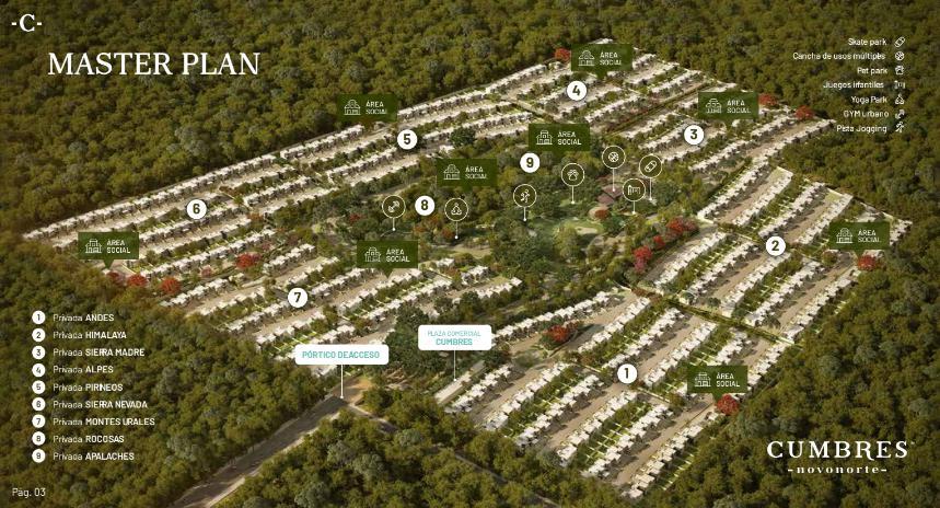 Foto Condominio en Conkal Privada Residenciales  al norte de Mérida en Valle Conkal número 15