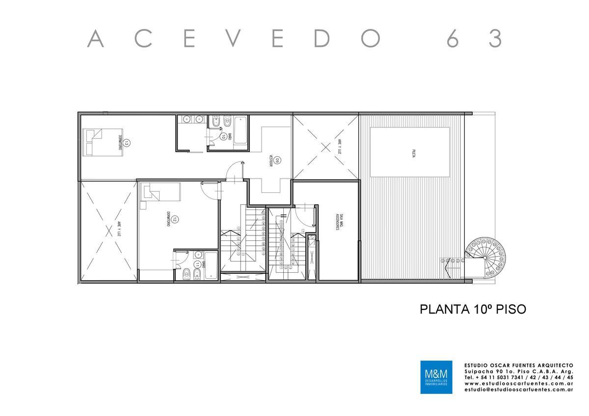 Foto Edificio en Caballito Eduardo Acevedo 63 número 13
