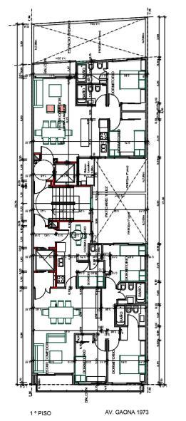 Foto Edificio en Caballito Norte Edificio de 3 y 4 ambientes. número 4