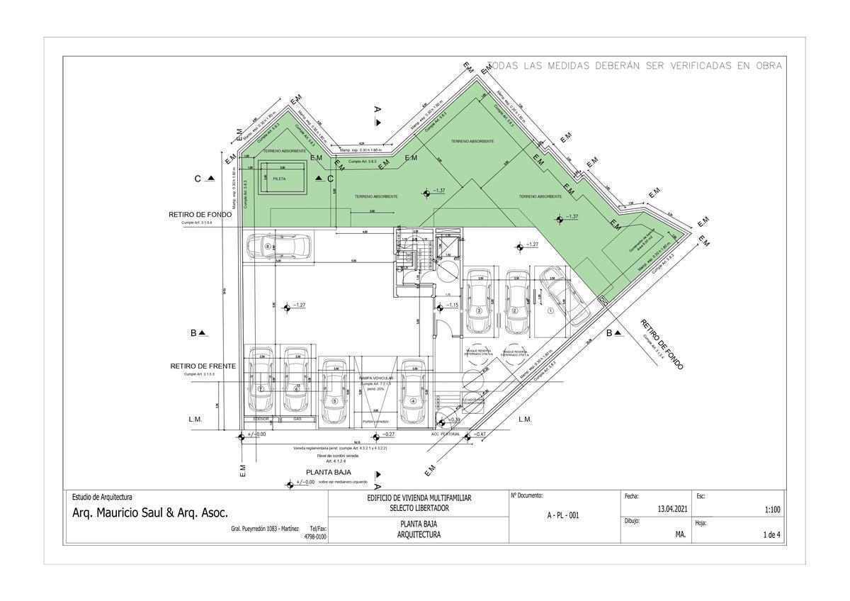 Exclusivo edificio de 4 plantas, 8 unidades de vivienda en Victoria, Punta Chica-7