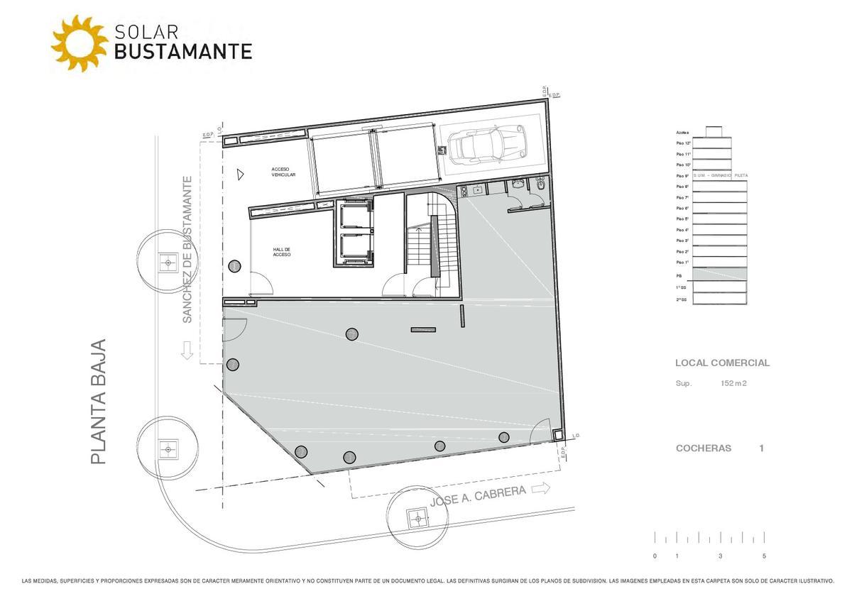 Foto Edificio en Palermo J. A. Cabrera y S. de Bustamante número 4