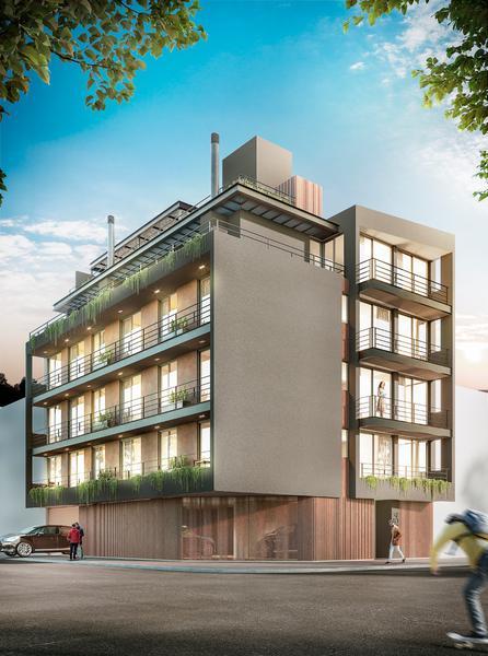 Foto Edificio en Alberdi Departamentos de  1 y 2 Dormitorios en GABINO BLANCO,  B°Alberdi número 1